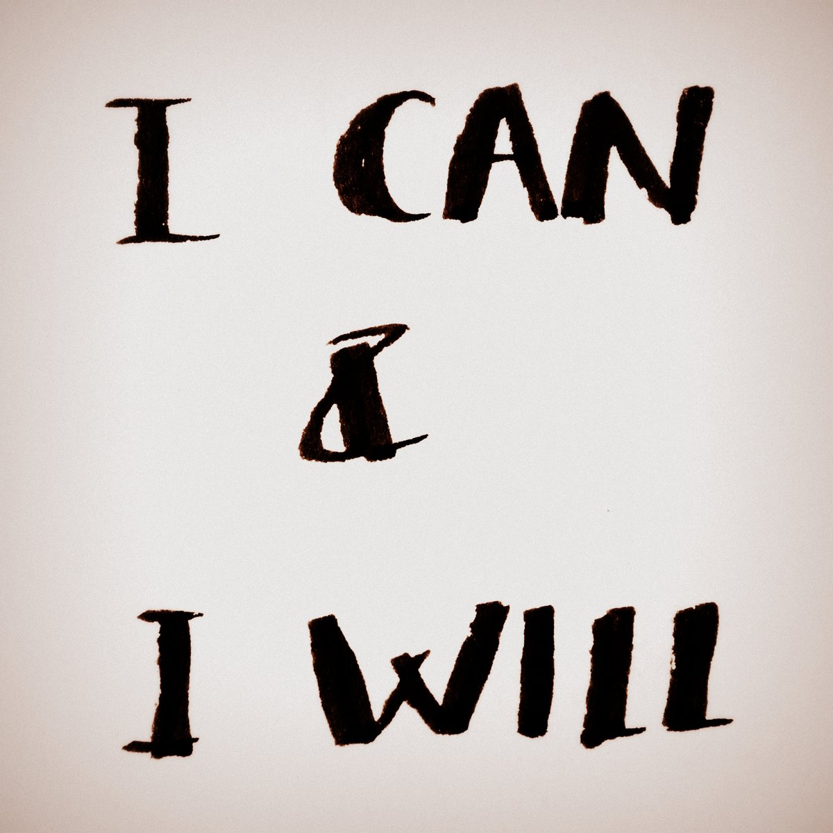 I can & I will.