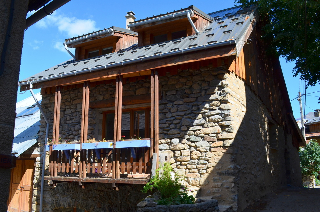 Chalet Auris, were we did part of our work exchange.