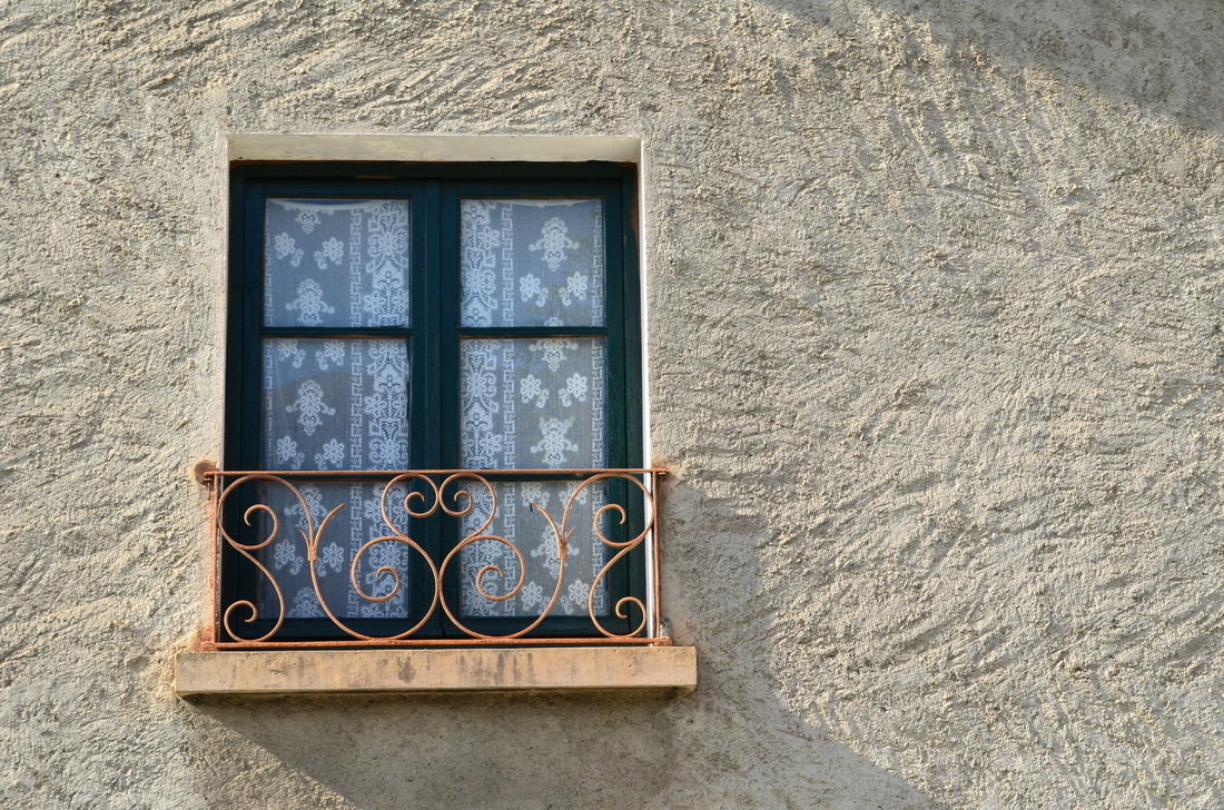 A very French window
