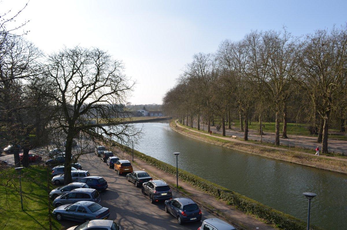 View towards Vauban park in Lille