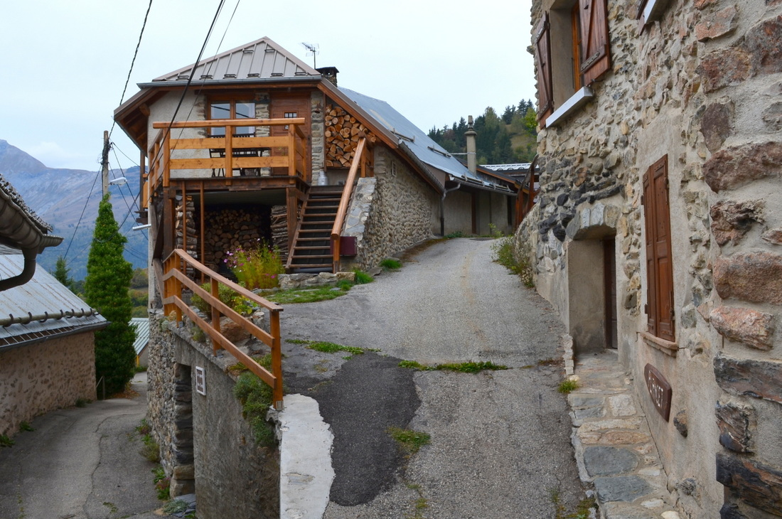Typical village streets