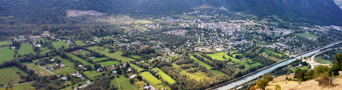 Panorama photo of Le Bourg-d'Oisans